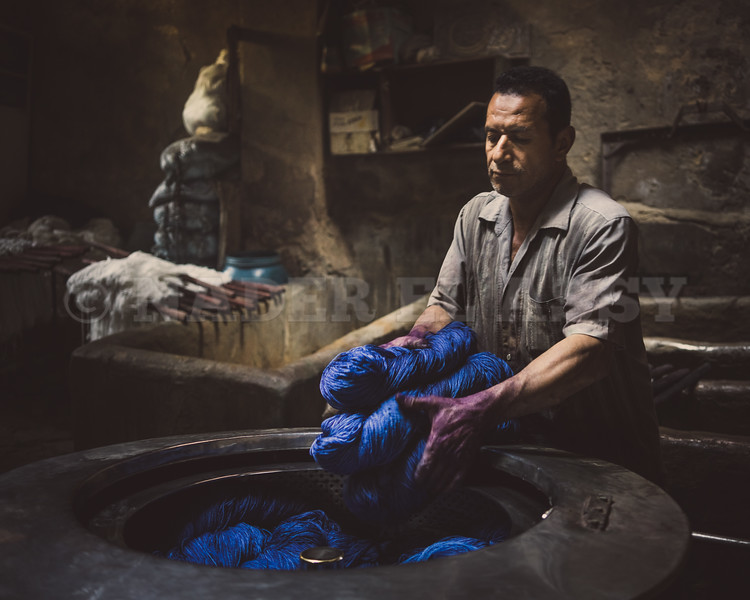 The Dyehouse Worker