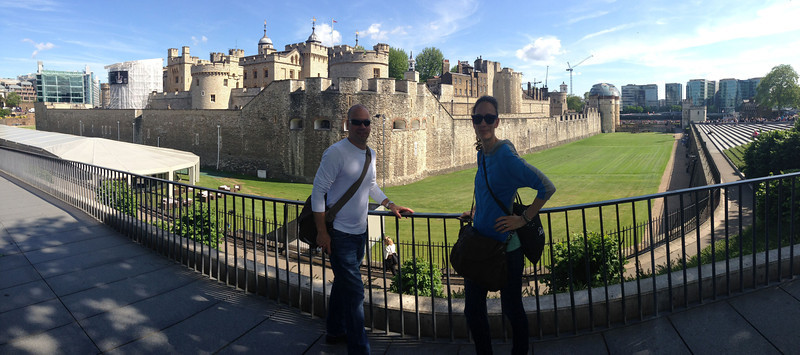The Tower of London.  At last some proppa history