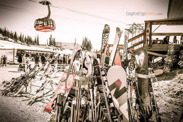 Whistler Blackcomb, Peak 2 Peak personal project, BC, Canada, July 2012