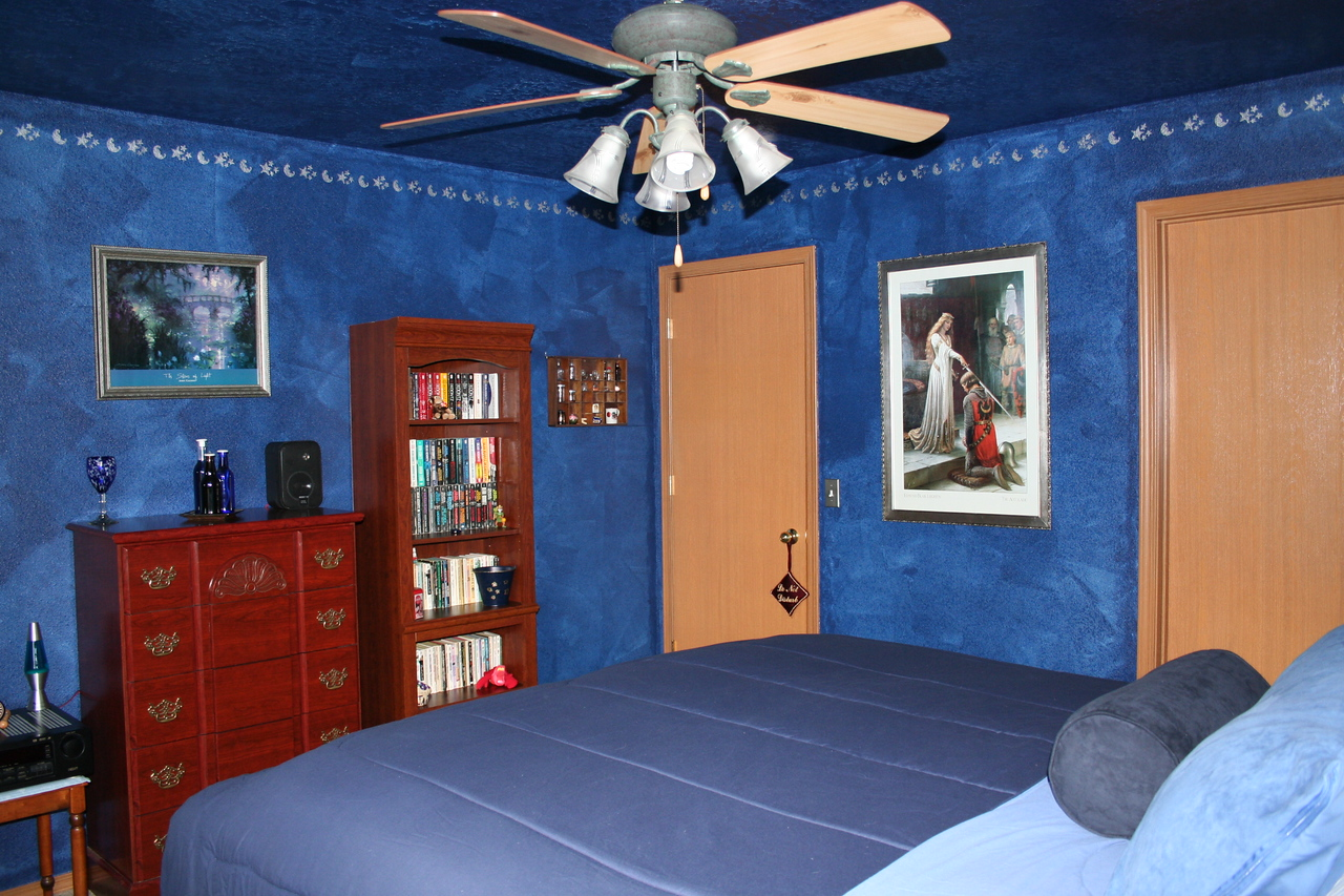 Our Master Bedroom freshly painted