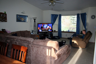 An update photo of our living room. April 2011