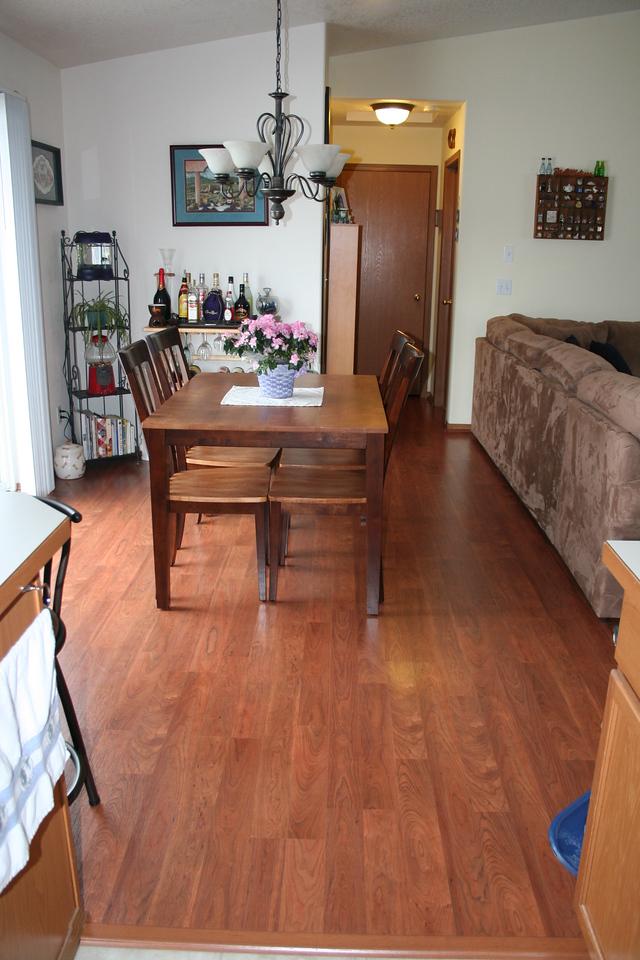 Our new Dinningroom Floor