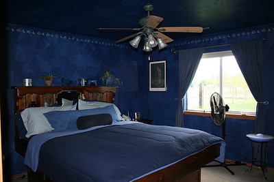 Our Blue Master Bedroom