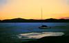 ice boat, Lonesome Bay, Lower Saranac Lake,  apr 1970sm