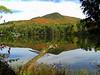 Mt Baker from Moody Pond, Saranac Lake village, oct 8, 2008 CIMG2993