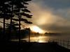 Lake Flower, dawn, sep 23, 2005