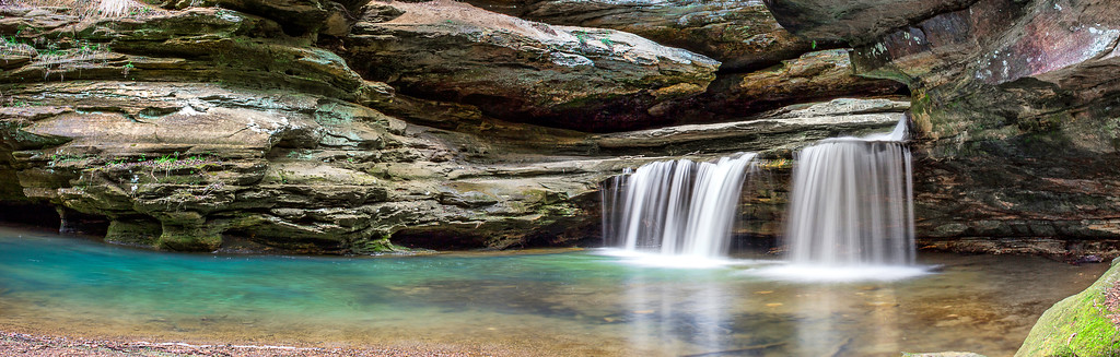 Old Man's Cave - Hocking Hills State Park-Ohio
