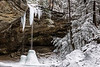 Winter at Ash Cave - Hocking Hills State Park-Ohio