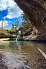 Upper Falls - Old Man's Cave  - Hocking Hills State Park-Ohio