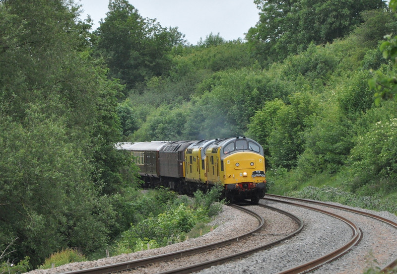 97303 and 97304 near Welshpool.