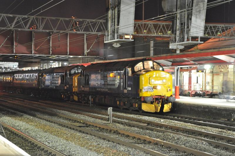 37688 and 37194, Crewe.