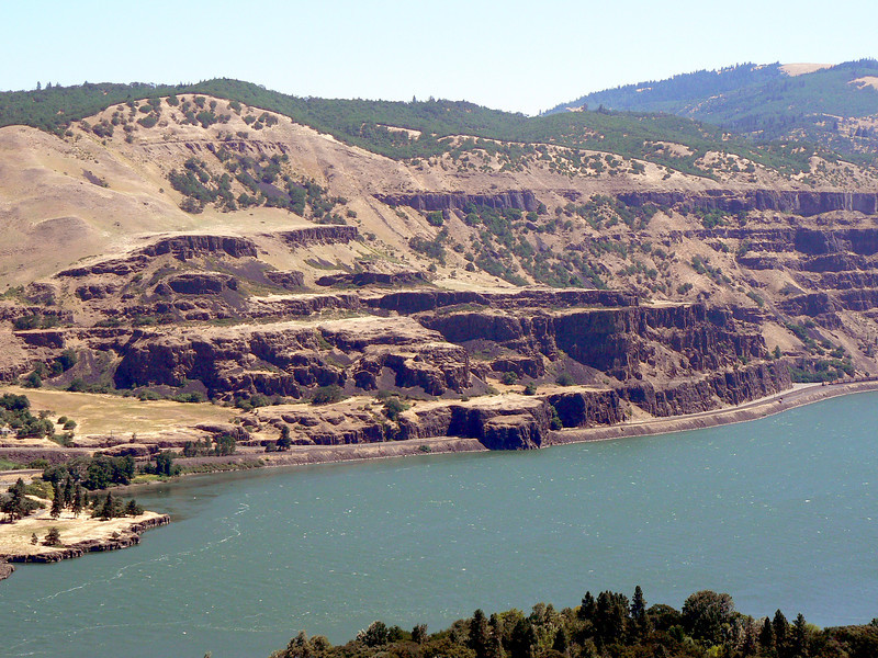 Columbia River Gorge outside of Hood River, OR.