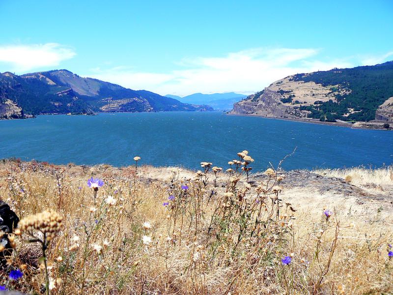 Columbia River at Hood River, OR.