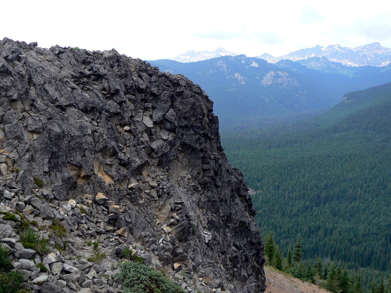 Looking North into the Gifford Pinchot National Forest