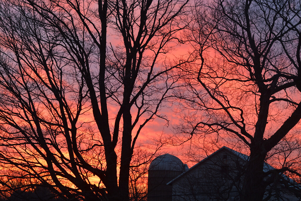 Sunset, December 2017