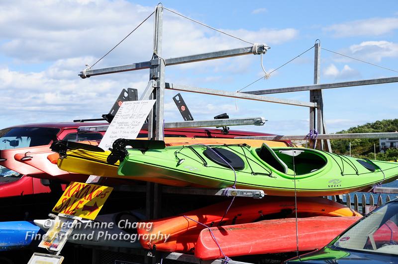 Kayaks at Rockport, MA