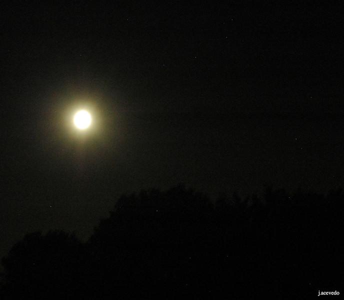 Full moon<br /> July 2013