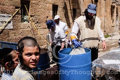 Passover Preparations in Jerusalem, Israel