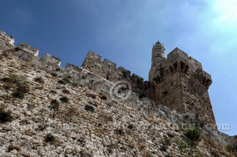 Archaeology on Mt. Zion Jerusalem, Israel