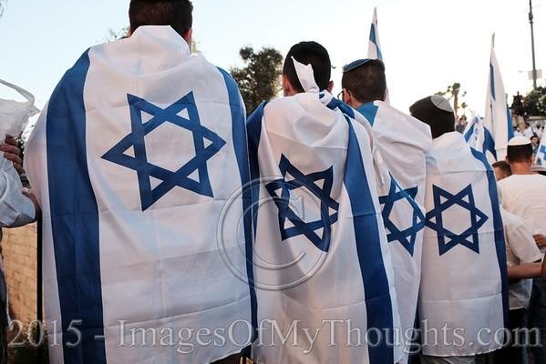 Israel: Jerusalem Day Dance of Flags 2015