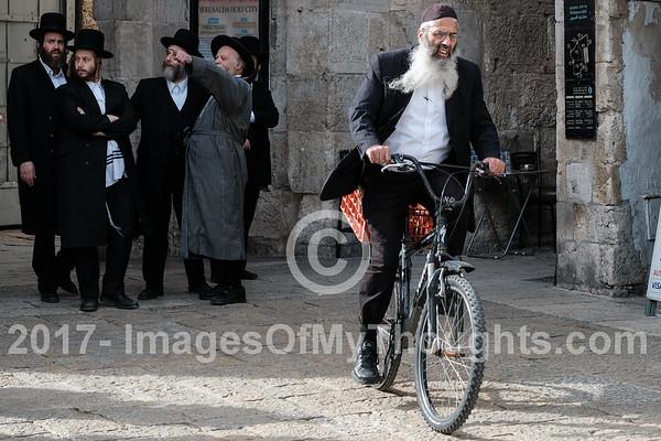 Street Scenes in Jerusalem, Israel