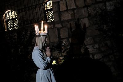 Saint Lucy's Celebration in Jerusalem