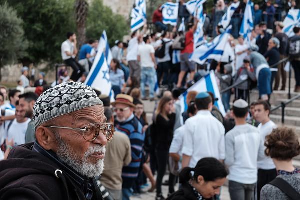 Dance of Flags 2018 in Jerusalem, Israel