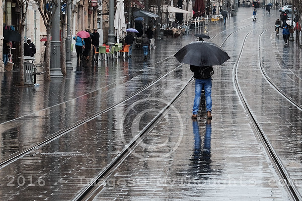 Jerusalem Weather: Cold and Wet