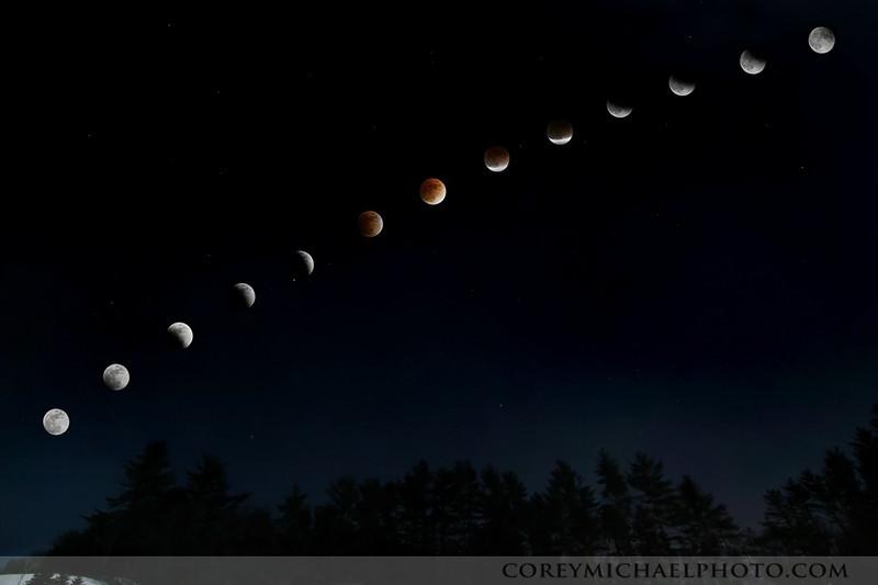 Feb 20th 2008 lunar eclipse