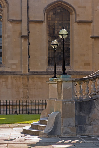 The steps of the Radcliffe Camera.