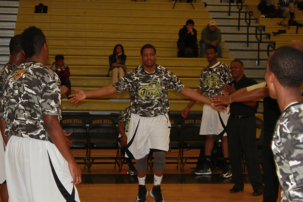 Oxon Hill High Basketball Senior Night