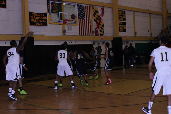 Oxon Hill High School Playoff Game