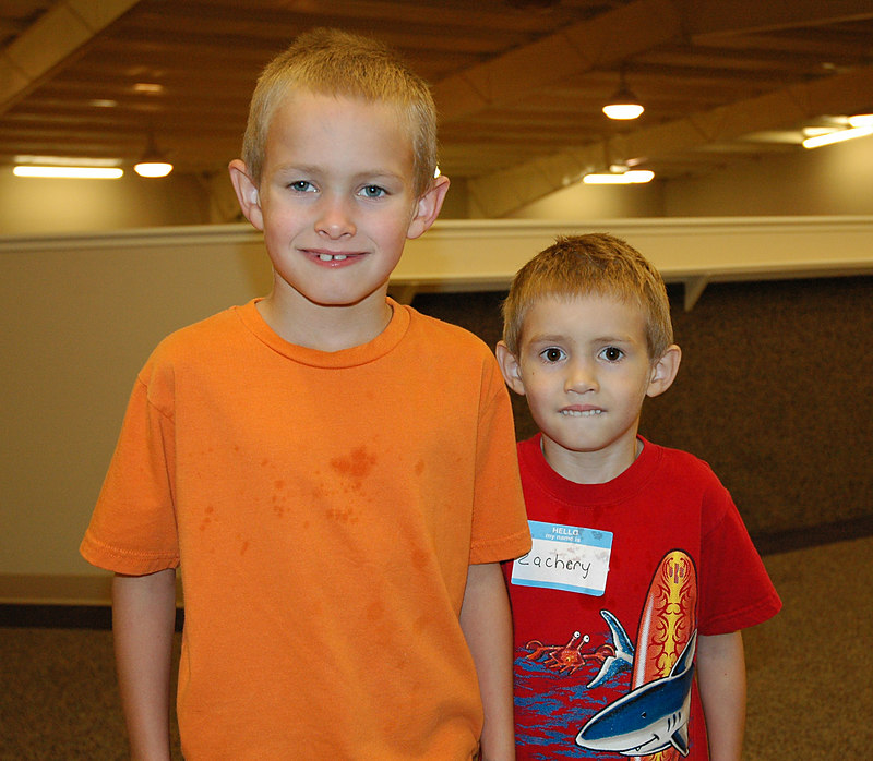 Some really great kids attend Royalwood Pentecostal Church. Here are brothers Austin and Zachery.