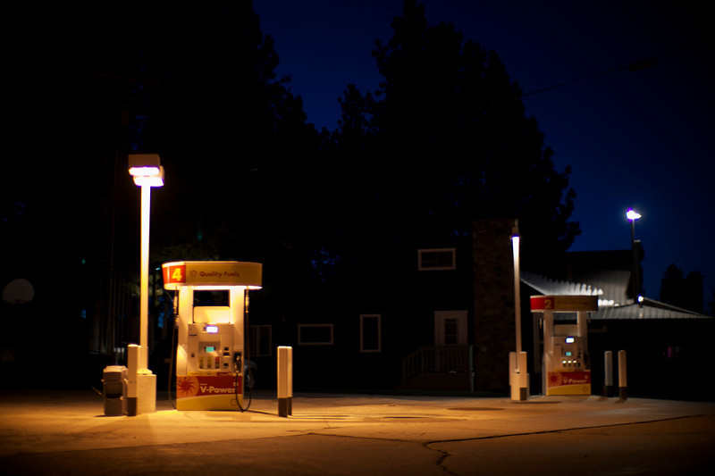 Gas Station: Mammoth Lakes