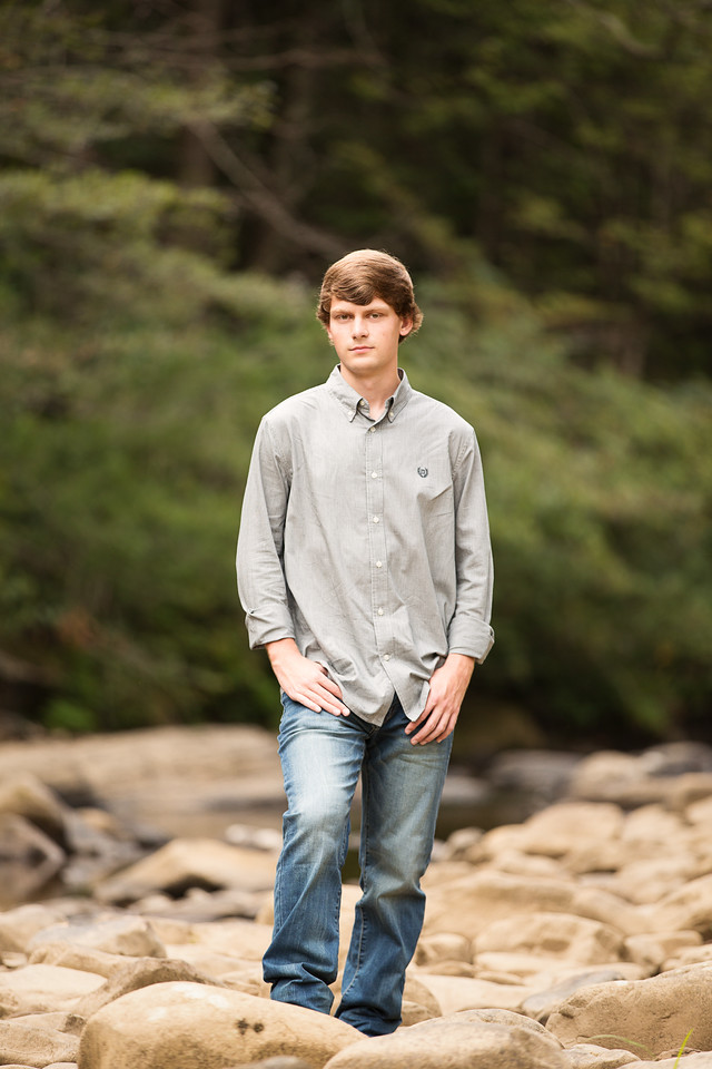 Chattanooga Senior Boy Photography Outdoor poses