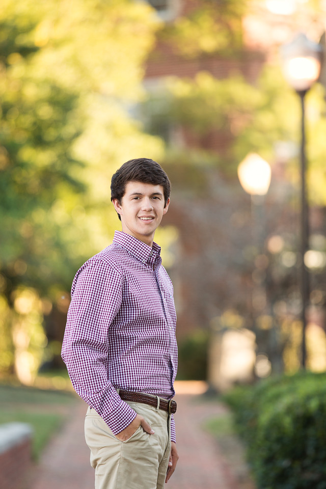 Baylor Senior Boy Portraits | Chattanooga