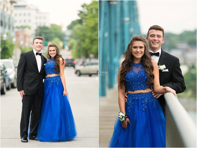 Prom mini sessions in Chattanooga | Pamela Greer Photography