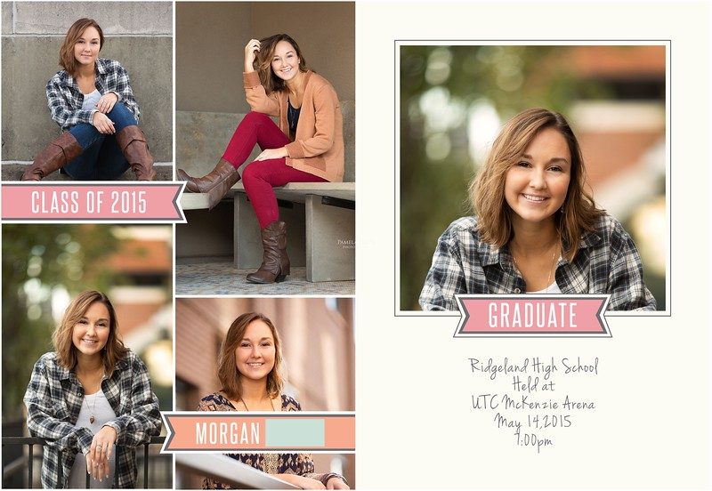 Ridgeland High School Senior Announcements | Pamela Greer Photography