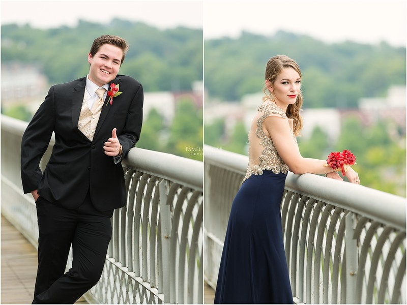Prom photos in Chattanooga | Pamela Greer Photography