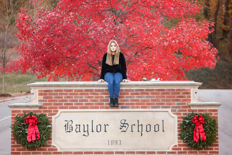 Chattanooga Senior Photography | Baylor School