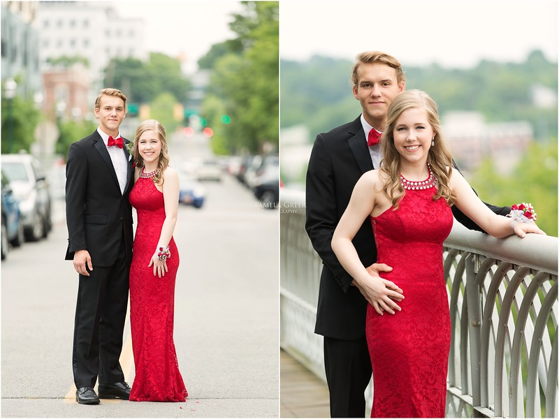 Prom portraits in Chattanooga TN | Pamela Greer Photography