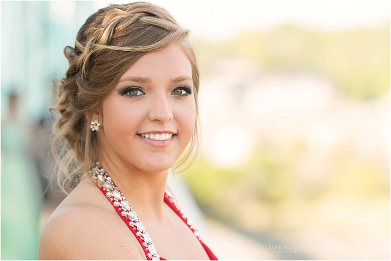 Senior Girl Prom Photos | Chattanooga | Pamela Greer Photography