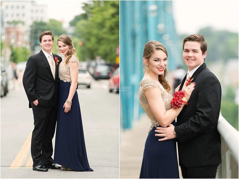 Chattanooga senior prom photos
