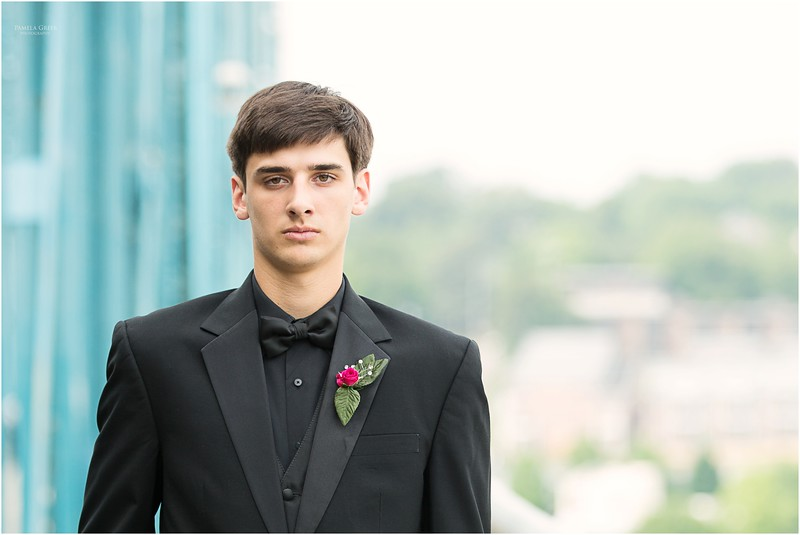 Chattanooga senior boy prom photos