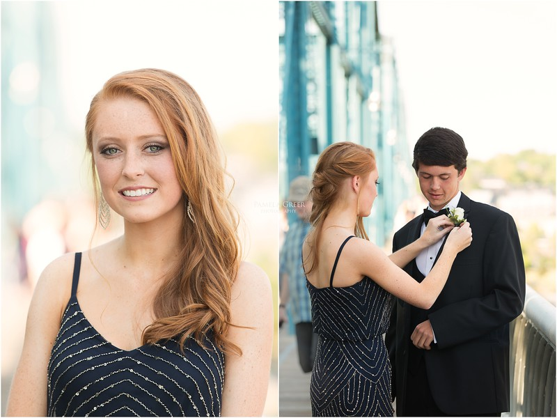 Senior Prom Photos | Baylor School | Chattanooga | Pamela Greer Photography