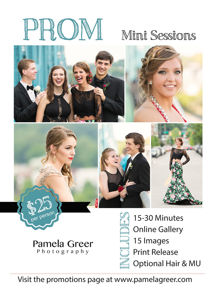 Chattanooga Prom Mini Sessions