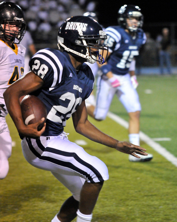 October 15, 2010 Bartlesville Football