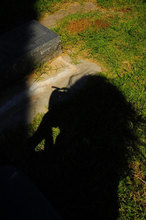 August 2nd, 2010<br /> Cemetery, Odessa Texas