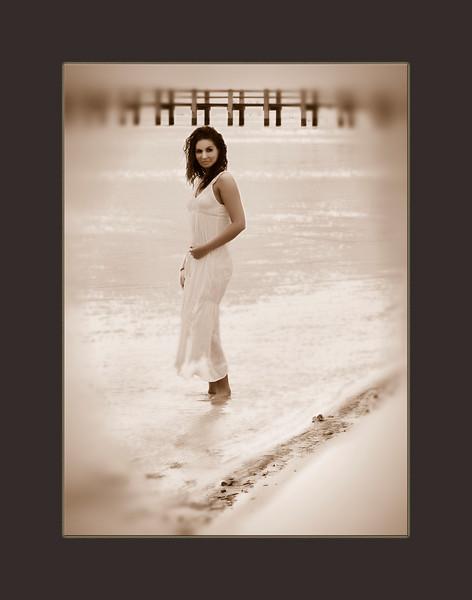 March 28th, 2010, Amanda, beach at the gulf,