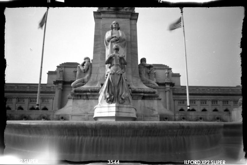 Columbus Plaza, Union Station.